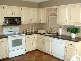 oak kitchen cabinets country uvideas com cream painted loversiq