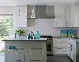 kitchen country white ideas with travertine backsplash kitchen best white ideas for small space with sea blue accents and subway tile