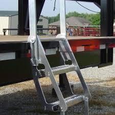 tooner ii pontoon ladder pontoon boat access marine