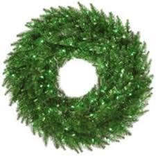 vickerman 9 tinsel green garland with 100 green mini lights
