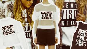 parental advisory sweatshirt alexander wang parental advisory