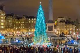 Christmas Trees In Paris Christmas Fairy Tale Towns Royal Holiday Destinations