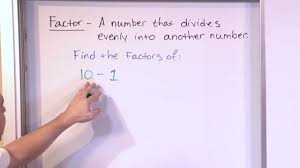 finding factors of numbers 5th grade math youtube
