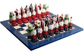 theme chess sets christmas chess sets lizardmedia co