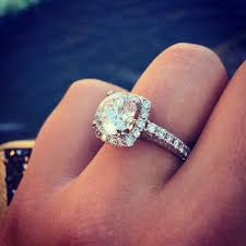 circle wedding rings big engagement ring inspiration popsugar