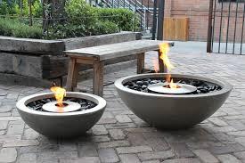 Gaslight Firepit Concrete Pit Bowl Pit Design Ideas Bowl Pit