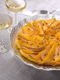 cuisiner mangue tarte tatin à la mangue et au foie gras savoir cuisiner fr