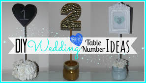 diy table number holders diy wedding table number ideas affordable wedding series