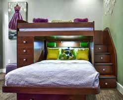 Wood Loft Bed With Desk Plans by How To Build A Loft Bunk Bed With Desk Modern Loft Beds