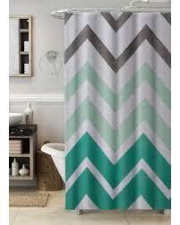 Green Chevron Shower Curtain Shopping Special Essential Home Chevron Shower Curtain Green