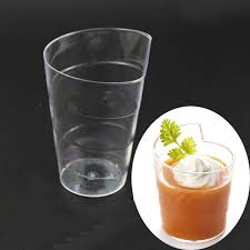 clear plastic cups for wedding aliexpress buy 24pcs clear disposale plastic dessert cups