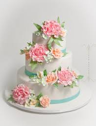Specialty Cakes Peony Wedding Cakes U2013 Sugar Couture Specialty Cakes