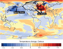 Colorado Temperature Map by Bering Strait Influenced Ice Age Climate Patterns Worldwide Ucar