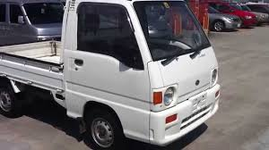 subaru mini pickup 1990 subaru sambar supercharged 4x4 minitruck youtube