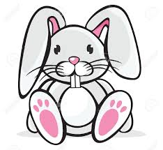 drawn rabbit adorable bunny pencil and in color drawn rabbit