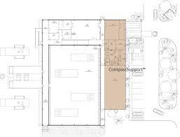 Data Center Floor Plan by Compasssupport Compass Datacenters
