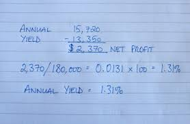 Rental Property Expenses Spreadsheet How To Work Out Yield On Rental Property 4 Steps With Pictures