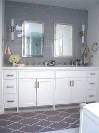 Contemporary Bath Rugs Swirl Rug Transitional Bathroom Andrew Howard Interior Design