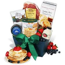 gourmet breakfast for s day gift basket by