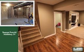 Laminate Floor In Basement Homeworks Basement Remodeling Specialsts