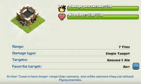 clash of clans archer pics gear up guide double cannon multi mortar u0026 archer tower