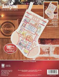 amazon com janlynn 14 count baby first christmas stocking