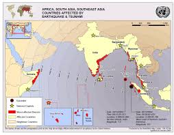 Earthquake World Map by Response To The 2004 Indian Ocean Earthquake Geog 588 Planning