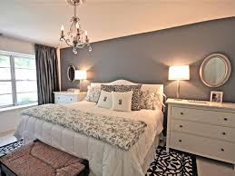 wall bedroom beautiful gray bedroom decorations ideas blue paint