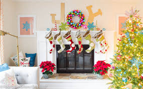 Home Goods Holiday Decor Christmas Mantel Ideas How To Style A Holiday Mantel