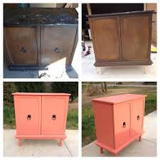 Painted Bedroom Furniture Before And After by 25 Best Coral Painted Furniture Ideas On Pinterest Coral