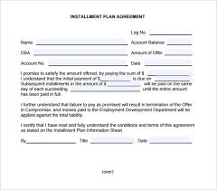 installment payment agreement template 28 images payment
