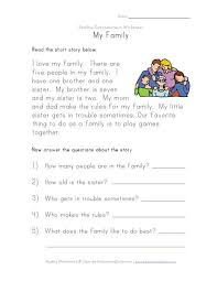 reading comprehension worksheet projects to try pinterest
