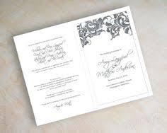 bi fold wedding program 80 until new year wedding guest book sign black 8x10 5x7