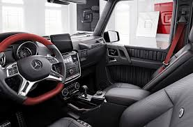 mercedes g class interior 2016 europe gets two 2017 mercedes benz g class special editions