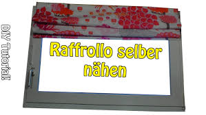 raffrollo design diy faltrollo raffrollo selber nähen nähen für anfänger
