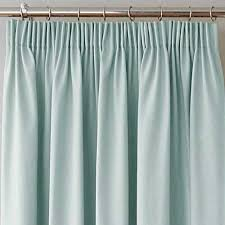 Duck Egg Blue Blackout Curtains Duck Egg Canvas Blackout Pencil Pleat Curtains The Mill Shop