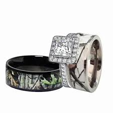 camo wedding rings for him and 49 camo wedding rings his and hers wedding idea