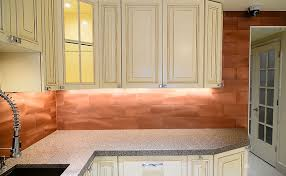 copper backsplash tiles for kitchen backsplash tiles copper large subway cool backsplash look not