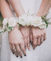 wedding wrist corsage january blooms ranunculus wrist corsage flowers bouquets