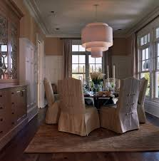 Covered Dining Room Chairs Slip Covered Dining Chairs With Arms Home Chair Decoration