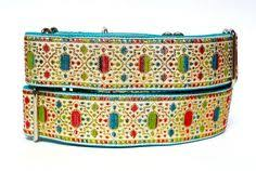 mardi gras masks martingale dog 14 18 blue and silver metallic martingale dog collar