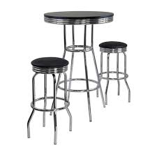 Indoor Bistro Table And Chair Set Bar Stools 5 Piece Bar Height Dining Set Small Bistro Table