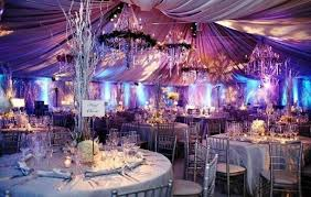 wedding reception decor trends for summer wedding image