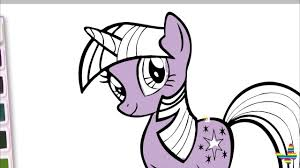 twilight sparkle coloring pages my little pony coloring book