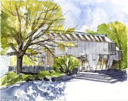 urban sketchers seattle nuclear reactor building university of