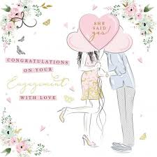 congratulations on your engagement card engagement cards wowvow