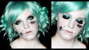 doll halloween makeup tutorial broken doll makeup tutorial cracked face 31 days of halloween