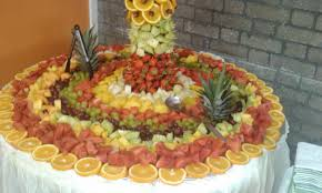 fruit table display ideas i love the idea of a whole table fruit display not sure how to