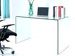 bureau verre design bureau en verre trempac plateau verre trempac bureau bureau verre