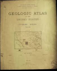 Uvalde Texas Map Prints Old U0026 Rare Texas Page